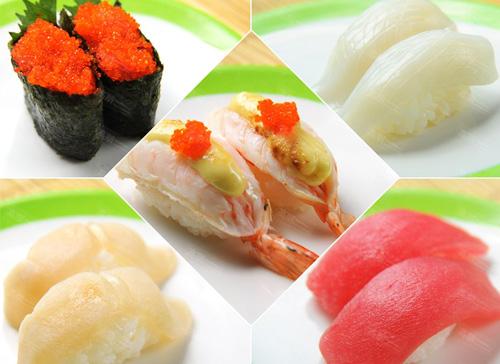回转寿司加盟惠送菜单设计欣赏_三禾集团