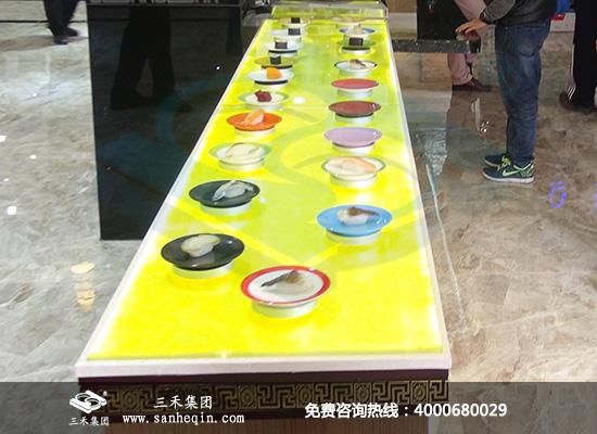 磁悬浮回转寿司设备_三禾集团
