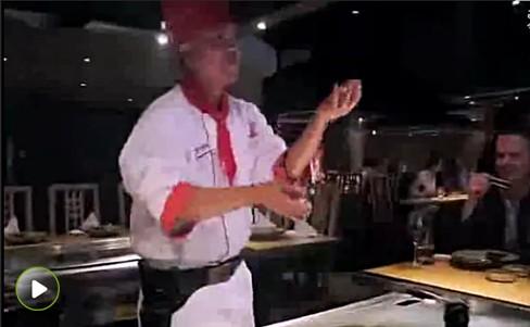 铁板烧餐厅娱乐营销三元素:舞蹈
