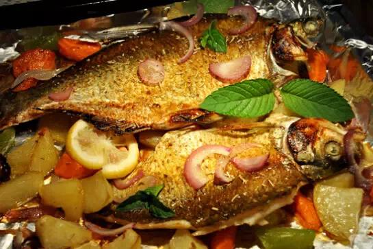 烤鱼配方制作步骤